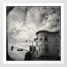 18th st San Francisco Art Print