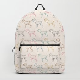 Schnauzer party Backpack