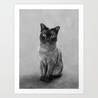 gizmo Art Prints featuring Gizmo by Colin Stuart