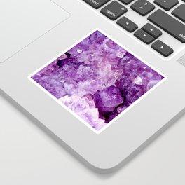 Purple Gems Sticker