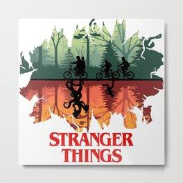 stranger mind Metal Print