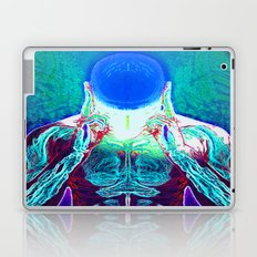 MIND #1 Psychedelic Meditation Vibrant Ethereal Design Laptop & iPad Skin