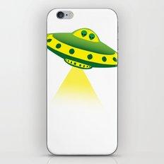 Alien Abduction iPhone & iPod Skin