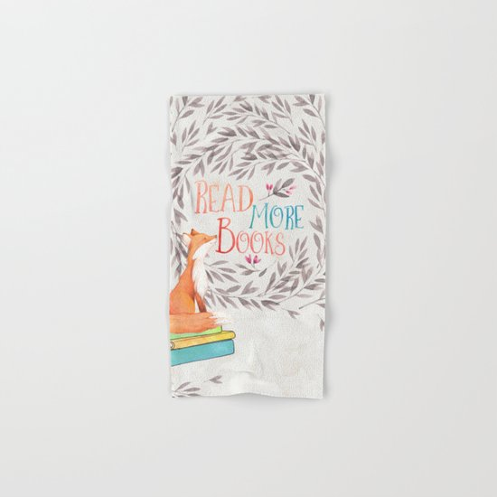 Read More Books - Fox Hand & Bath Towel