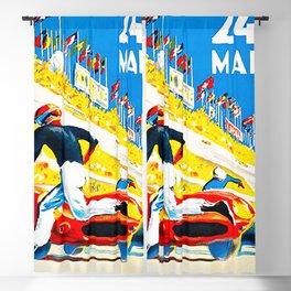 Mans 1959 Grand Prix Blackout Curtain