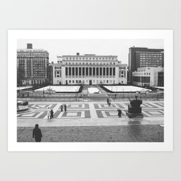 Columbia University NYC Art Print