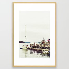 Fishing Trip Framed Art Print