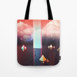 Low cost time travel Tote Bag