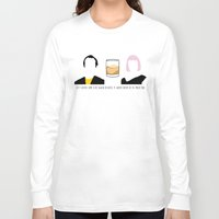 lost in translation Long Sleeve T-shirts featuring Lost in Translation by Qc Illustrations