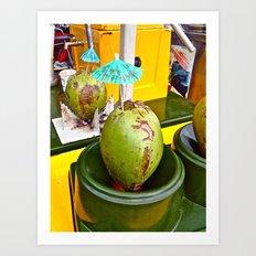 Coconut Dream Art Print