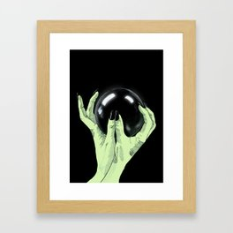 Crystallomancy Framed Art Print