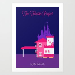 The Florida Project Minimalist Poster Art Print