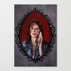 Halloween Heroines: Sidney Prescott Canvas Print