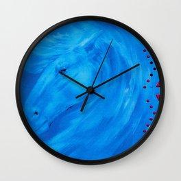 """Spirit Wave"" Wall Clock"