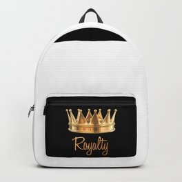 Royalty Gold Crown Backpack