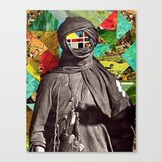Color Face Canvas Print