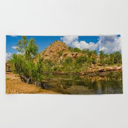 Bell Gorge Beach Towel