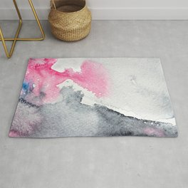Diffusion || watercolor Rug