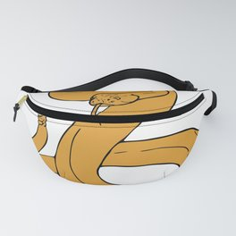 Rattlesnakes yellow Fanny Pack