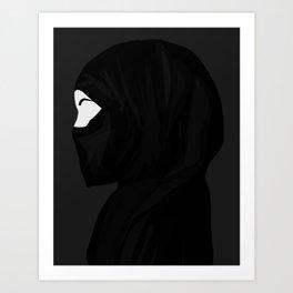 Hijab Art Print