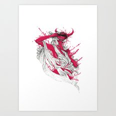 Somebody That I Used To Know Art Print