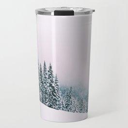 Angled Snow Travel Mug