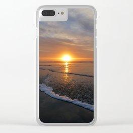 Sun-kissed Sea Clear iPhone Case