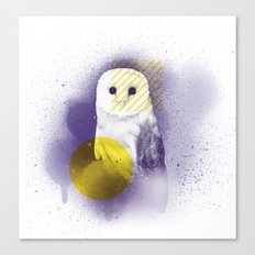 The Calm Owl Canvas Print