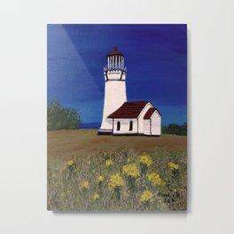 Cape Blanco lighthouse/ Oregon Metal Print