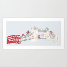 london impression Art Print