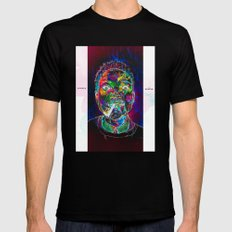 Chance the Rapper Mens Fitted Tee Black MEDIUM