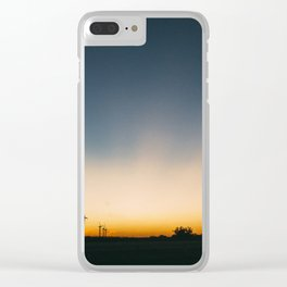 Ends of the Earth Clear iPhone Case