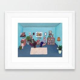 the Psychiatrists Room Framed Art Print