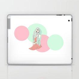 Pink and Sea Foam Laptop & iPad Skin