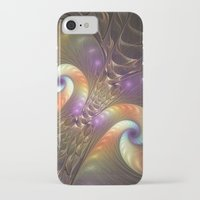 fractal iPhone & iPod Cases featuring Fractal by gabiw Art