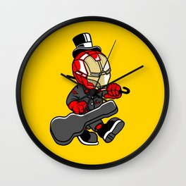 Iron Gentleman - Illu from Dan Roach Wall Clock
