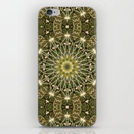 Geometric Forest Mandala iPhone Skin