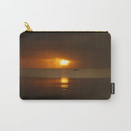 Fishing at Sunrise Carry-All Pouch
