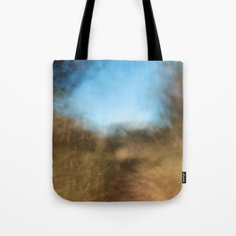 Forest Trail (Abstract ICM), Forth Mountain, Wexford Tote Bag