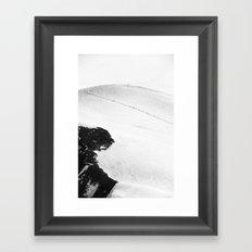 Ant Marching Framed Art Print