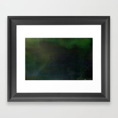 States of summer night warmth: 79°F Framed Art Print