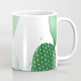 Green Paddle Cactus II Coffee Mug