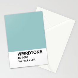 No Fucks Left Stationery Cards
