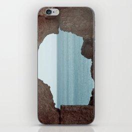 window to sea iPhone Skin