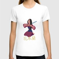 mulan T-shirts featuring Mulan by Angelus
