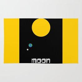 The Moon in Minimal Rug