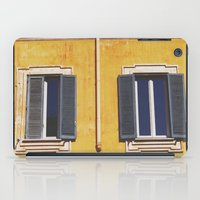 italian iPad Cases featuring Italian Windows  by Forgotten Charm