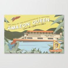 The Amazon Queen Canvas Print