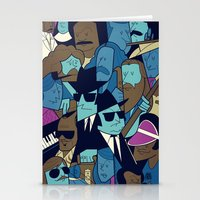 blues brothers Stationery Cards featuring The Blues Brothers by Ale Giorgini
