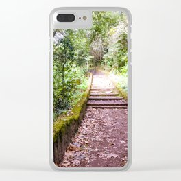 Tecajetes: My Happy Place (III) Clear iPhone Case